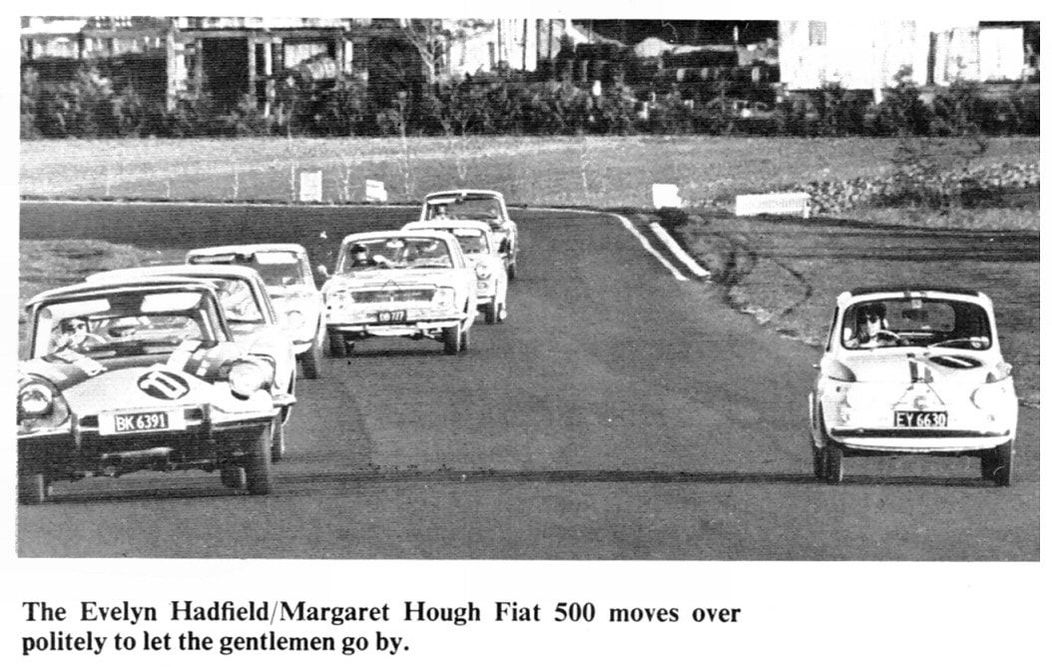 """From """"The Shell Book Of New Zealand Motor Racing 1966"""" and Steve Elliott's collection."""